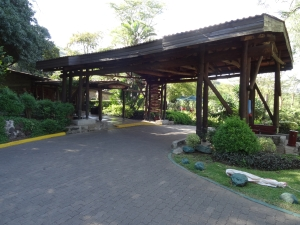 Lion Hill Lodge entry