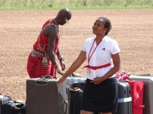Masai baggeage handler