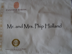 Mr and Mrs Phip Holland